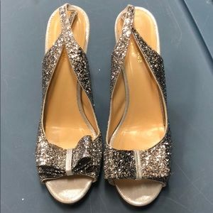 Kate Spade glitter heel
